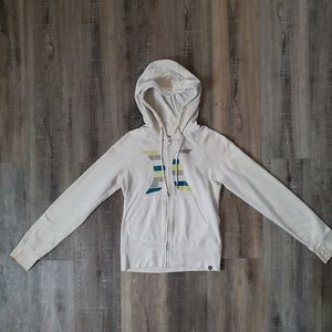 Women's Hurley zip up hoodie with thumb holes EUC